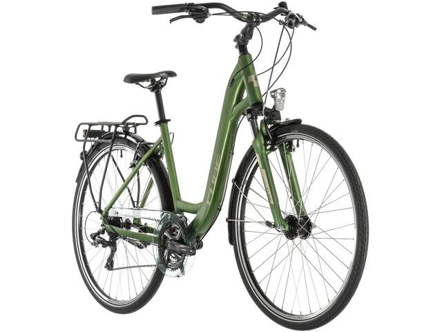 Cube Touring Trekkingcykel Easy Entry grøn (2019) | City-cykler